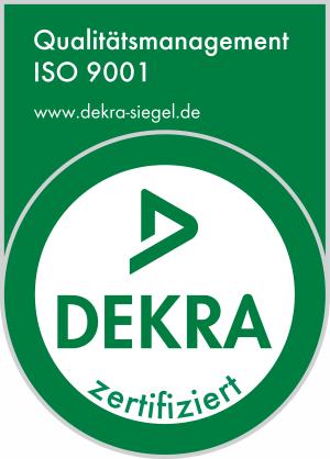 AS Rollen ISO9001 zertifiziert